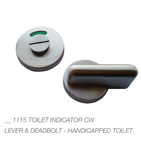 Lovely Door Accessories Toilet Indicator Cw Lever And Deadbolt
